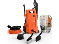 Brand New in Sealed Box Vax VPW1WB Home Pressure Washer 1700W 130 bar Max 1800 psi Inc Accessories