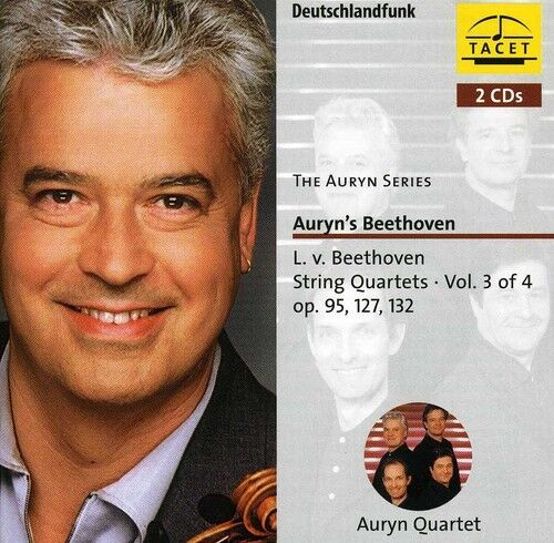 Auryn Quartett, Ludwig van Beethoven - String Quartets 3 [New CD]
