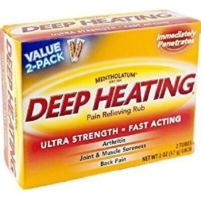 Rub 2 Ounce Cream - Mentholatum Deep Heating Rub Cream, 2 oz. 310742013351YN