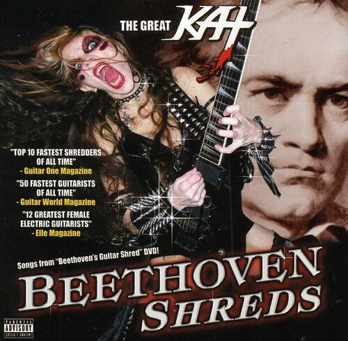 The Great Kat - Beethoven Shreds [New CD]