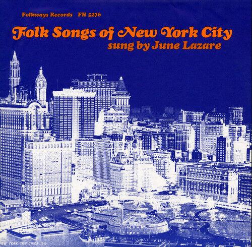 June Lazare - Folk Songs Of New York City, Vol. 1 [new Cd]