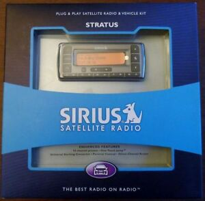 Sirius Stratus Radio - unopened Cambridge Kitchener Area image 1