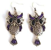 Owl Earrings Free Shipping