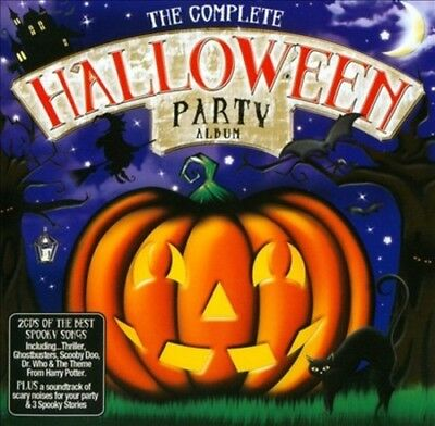 VARIOUS ARTISTS - THE COMPLETE HALLOWEEN PARTY ALBUM NEW CD (Halloween Over Christmas Music)