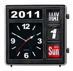 Wall Flip Clocks