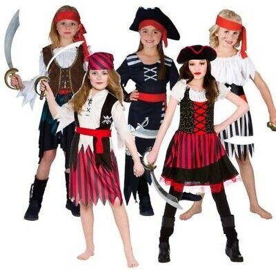 Mädchen Piraten Hochsee Prinzessin Kostüm Karibik Jack Buchwoche - Kostüm Mädchen Buch Woche
