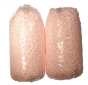Packing Peanuts 7 cu ft - 2 Bags Pink Anti Static Popcorn 52 gal Free Shipping