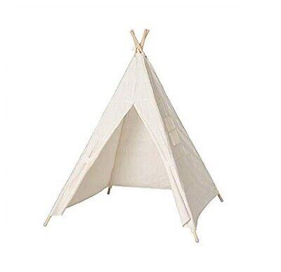 Spielhaus Kinder Zelt Babyzelt Tipi Wigwam Baumwolle 140cm (Kinder Zelte)