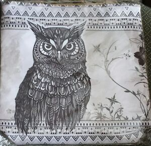 Handmade bag/animals design - Hibou/Owl - New bag