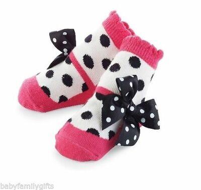 Mud Pie Socke Hop Baby, Mädchen, Rosa Mary Jane Gepunktet Zoey Socken 176266
