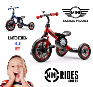 ★BRAND NEW OFFICIAL MINI COOPER™ KIDS TRICYCLES★ Adelaide Region Preview
