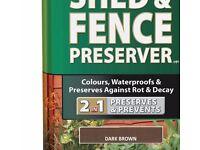 Ronseal Wood Preserve Dark Brown