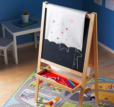 Ikea Mala Easel kids Drawing Whiteboard Chalkboard  - Kids Painting Easel