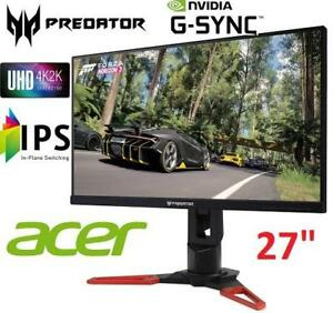 "RFB* ACER PREDATOR 27"" PC MONITOR XB271HK 219913962 IPS UHD COMPUTER DESKTOP GAMING MONITOR REFURBISHED C GRADE"