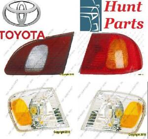 Toyota Corolla 1998 1999 2000 2001 2002 Spoiler Strut Assembly Suspension Shock Absorber Taillamp Tail Lamp Trunk Light
