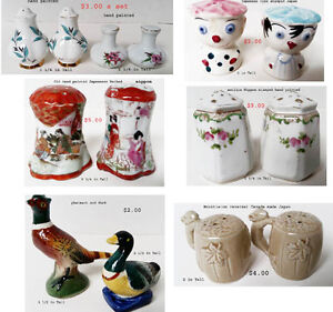 Sets of Collectible Salt  Pepper Shakers West Island Greater Montréal image 1