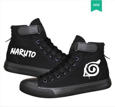 Naruto Cosplay Schuhe (Cosplay Naruto Anime Manga Sneaker Freizeitschuhe Sportschuhe Schnürer unisex)