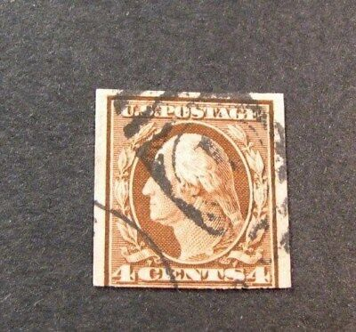 US Stamp Scott# 346 Washington 1909 L158