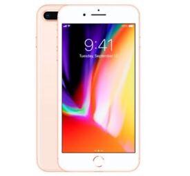 Brand New APPLE iPhone 8 plus - 256GB,Gold. Sim Free/Unlocked. Still boxed & sealed