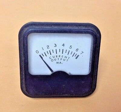 Emco Vintage Electronic Meter 0-7 Current Output Ma.