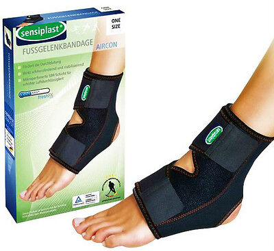 SENSIPLAST Fußgelenkbandage Fußbandage Fußgelenk Knöchel Bandage Universal Fuss ()