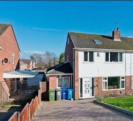 3/4 bedroom semi-detached house recently refurbished