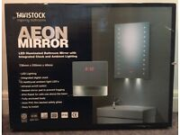TAVISTOCK AEON BATHROOM MIRROR (Boxed, unopened)