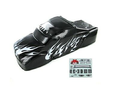 Redcat Racing BS801-017 1/8 Semi Truck Body Black and Silver  BS801-017