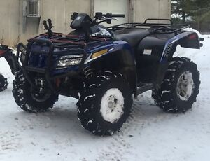 2012 700 50th anniversary arctic cat
