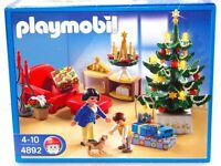 PLAYMOBIL Christmas Room - Christmas 4892 Brand new in unopened box