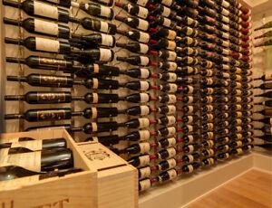 Modules Caves à Vin métal / Vintage View Metal Wine Racks