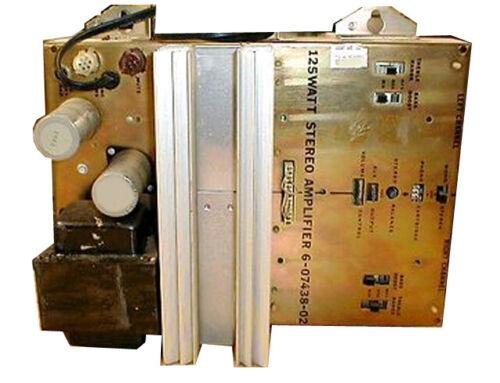 Repair and reconditioning service -Rowe 125Watt Stereo Amplifier P/N 6-07438-02