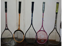 Racquets for squash