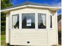 DGCH 2 BED STATIC CARAVAN FOR SALE AT COOPERS BEACH, MERSEA ISLAND *** 2018 PITCH FEES INCLUDED ***
