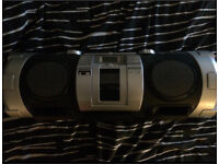 Powered Woofer CD System Stereo