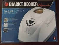 Black & Decker All in One Automatic Bread Maker