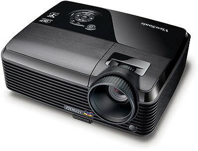 ViewSonic PJD6221 3D Ready 120HZ 1024 x 768 DLP Projector 2,700 Lumens !