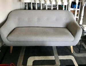BJORKE 2.5 Seater Sofa (Grey)