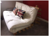 Futon (wooden slated) Double