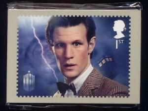 GB 2013 DR WHO PHQ STAMPS CARDS MINT