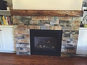 Fireplace Mantels and Barn Beams