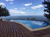 Holiday,lovely villa,private pool;jacuzzi;amazing sea view;Albena,Bulgaria