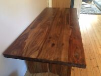 Beautiful Solid Sheesham Wood Dining Table 2.1m long
