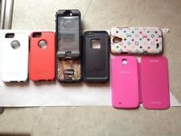 iPhone 5 and 5S otterbox, 4s and 3s cases
