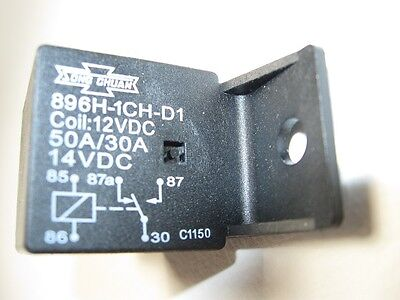 896h-1ch-d1 12vdc Automotive Relays Form 1c Spdt 12v 50a Song Chuan 1 To 4 New