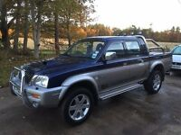 2002 Mitsubishi L200 Animal Pick-up, Tain, Highland [Full Years MOT]