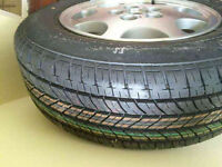 """Shropshire BARGAIN: 4 x 16"""" alloy Wheels (nissan 200sx / skyline ) and 1 x 15"""" alloy with tire"""