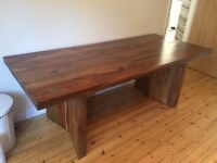 Beautiful Solid Sheesham Wood Dining Table