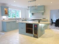 Professional kitchen fitters based in Kent