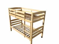 Bunk bed 100% pine wood solid wood NEW